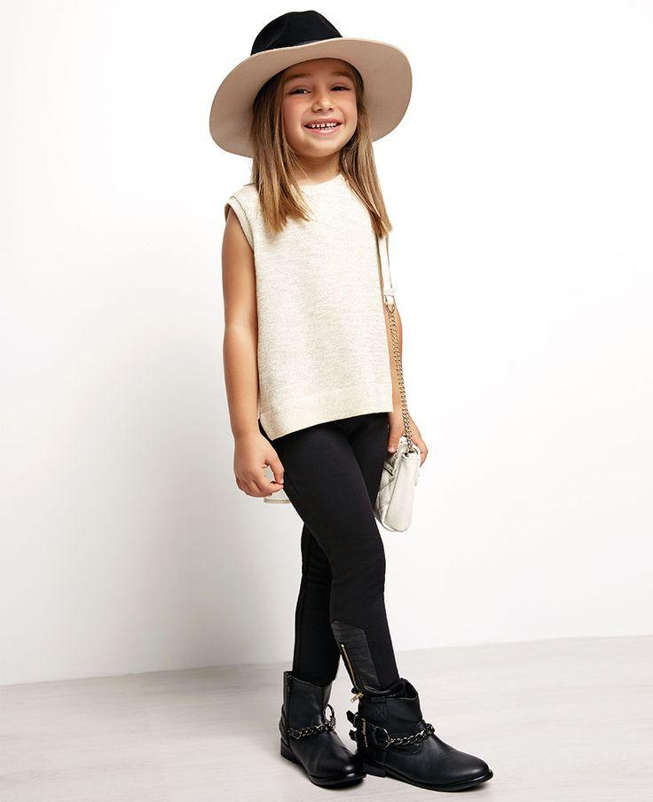 Little Girl's Courtney Pant - Bardot Junior