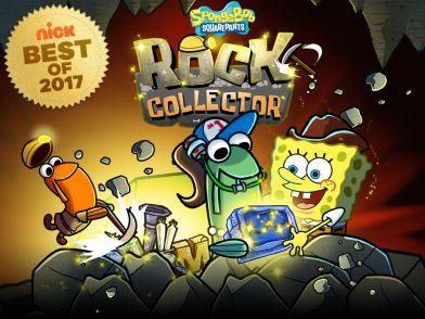 Nick Best of 2017 Game: SpongeBob SquarePants: Rock Collector