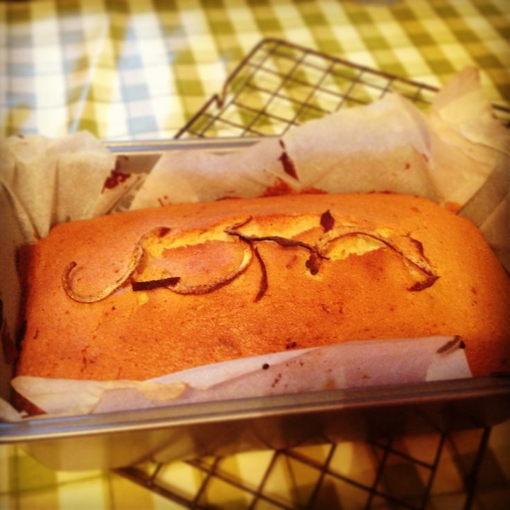 The beginning of the Mary Berry Baking Bible! -- The Madeira Cake.  Even has the necessary crack