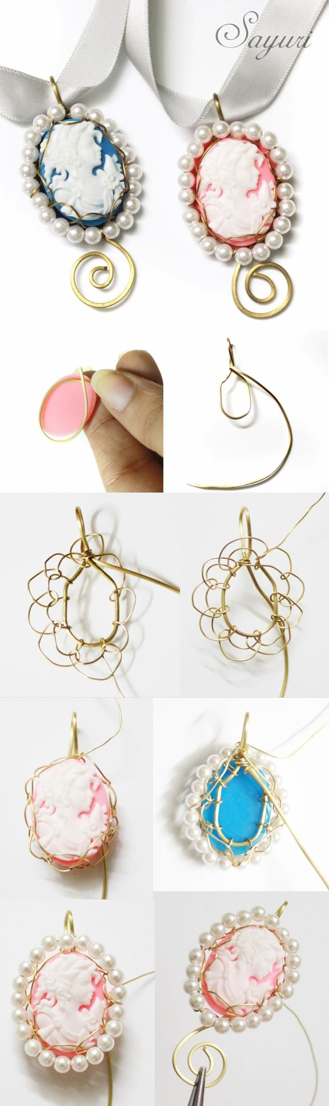 55 best Jewelry making ideas images on Pinterest | Wire jewelry ...
