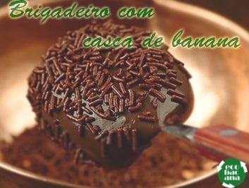 Que tal fazer uma receita de brigadeiro diferente para o domingão?  Mais sustentável e nutritiva! Olha a receita lá no blog: http://www.ecobacana.com.br/2013/05/receita-ecobacana-Brigadeiro-de-Casca-de-Banana.html #sustentabilidade