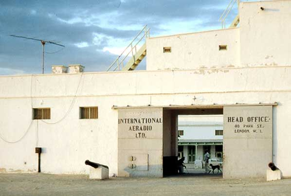 Sharjah Fort entrance gate, the Trucial States