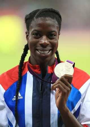 Christine Ohuruogu Silver Medalist Womens 400m