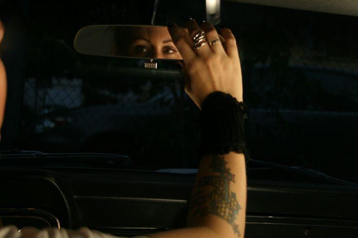 Blind Spot…   #Killtspirit  #Wristcuff #tomboyfemme  #placestogo #wristcuff  #accessories  #girlsnmustangs  #uniquefashion