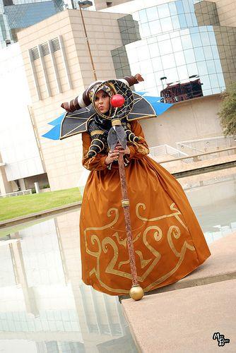 Catzilerella: Rita Repulsa from Mighty Morphin Power Rangers in Otaku House Cosplay Idol 2012