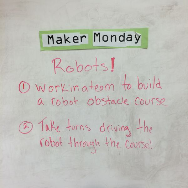 Adventures of a Children's Librarian: Maker Monday - Robots & Towers