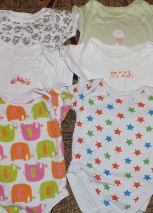Kup mój przedmiot na #vintedpl http://www.vinted.pl/odziez-dziecieca/dla-niemowlakow-dziewczynki/11881195-zestaw-body-dziewczynka-3-6miesiecy-6x-body-z-krotkim-rekawem