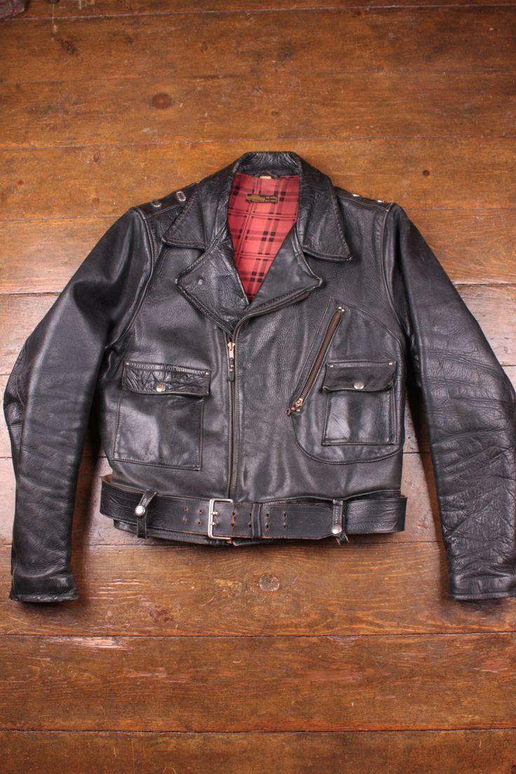 Vintage 1940 S Harley Davidson Cycle Champ Jacket