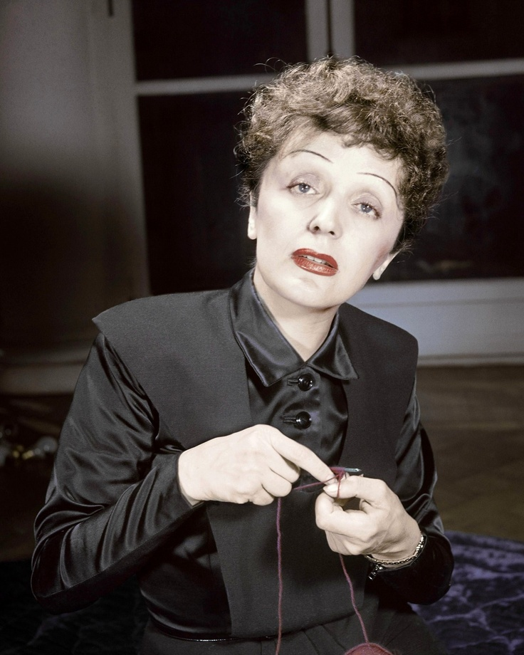 Image result for edith piaf color