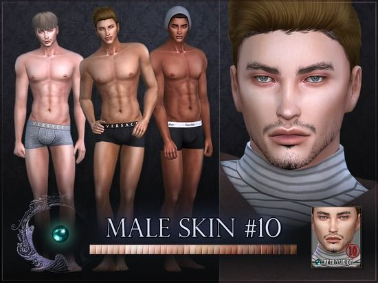 Dive Mod Collection Male Skin for The Sims 4 | Spring4sims