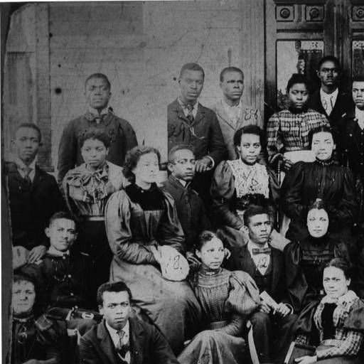 Tuskegee Students 1900 :: Tuskegee University Libraries Digital Collections