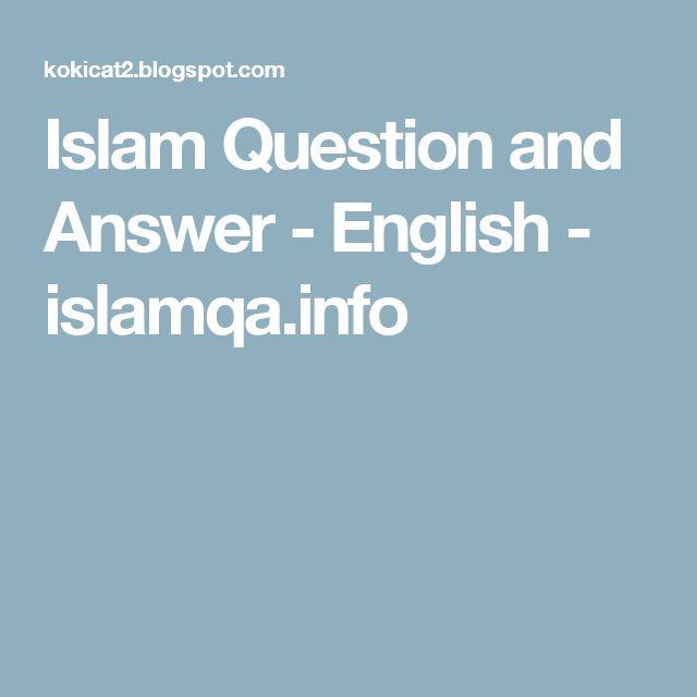 Islam Question and Answer - English - islamqa.info