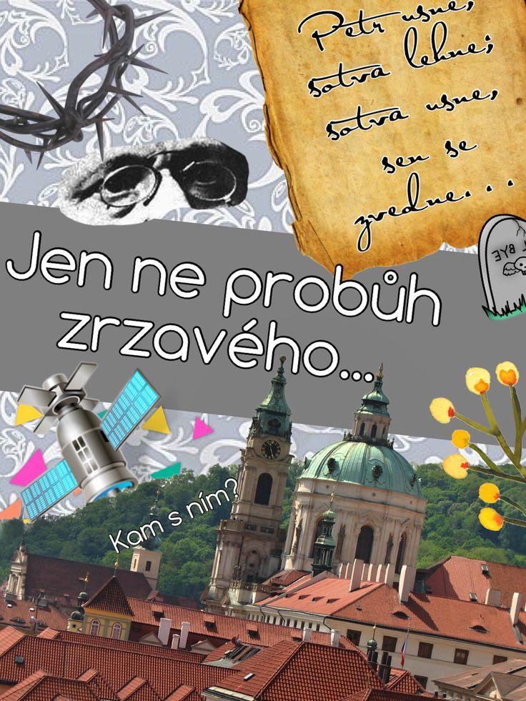 Poznáš podle koláže slavněho českého spisovatele? Český jazyk, čeština, literatura