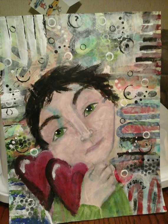 Hey, I found this really awesome Etsy listing at https://www.etsy.com/ca/listing/242221432/mixed-media-painting-guy-art-original