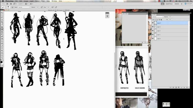 Concept Character Design Tutorials : Best character concept design tutorials images on
