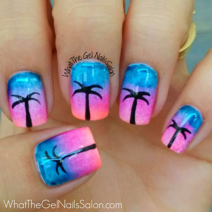 Gel Nail Design Miami: 25+ Best Ideas About Summer Nail Art On Pinterest