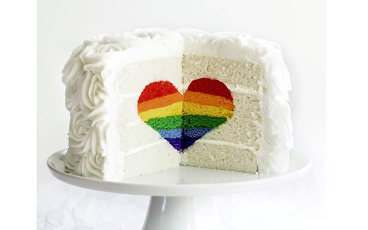 How to Make This Amazing Rainbow Heart Cake