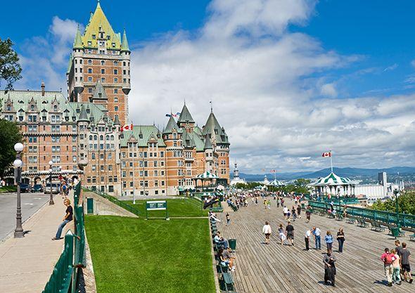 Quebec's Grande Dame: The Fairmont Château Frontenac