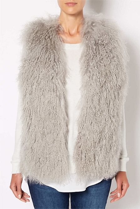 Women's Spring & Summer Fashion 2014 | Witchery Online - Wool Gilet