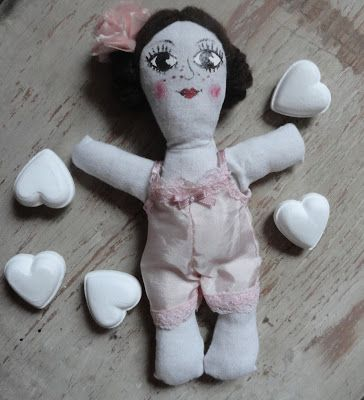 Nowa lalka-szmacianka    New rag doll