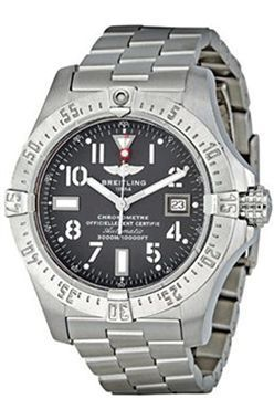 Breitling Avenger Seawolf gris pizarra Dial automatica A1733010 F538SS Sale! Up to 75% OFF! Shop at Stylizio for women's and men's designer handbags, luxury sunglasses, watches, jewelry, purses, wallets, clothes, underwear & more! #menswatchesbreitling