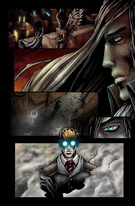Bloodlust 2. szám, 2. képregényoldal