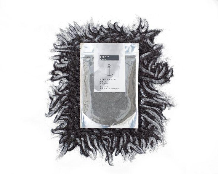 Black Sandalwood Himalayan Salt Scrub