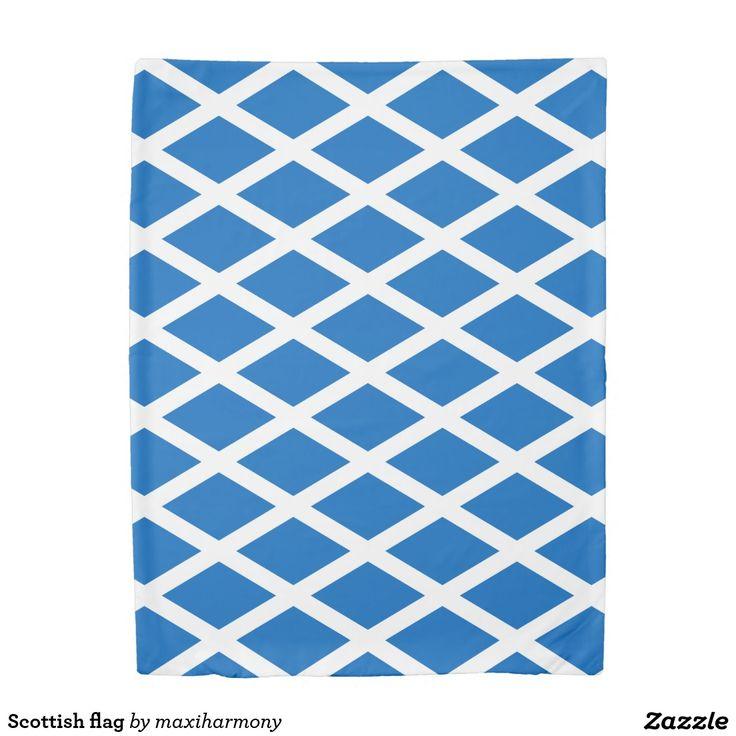 Scottish flag duvet cover