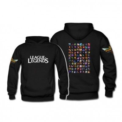League of Legends Champions Fleece Hoodie Apparels | IdolStore #pcgamer #computer #gamer #gaming #nerdstation #gamingsetup #asus #logitech #razer #coolermaster #callofduty #battlefield #leagueoflgends #worldofwarcraft #lol #dota #gta #xbox