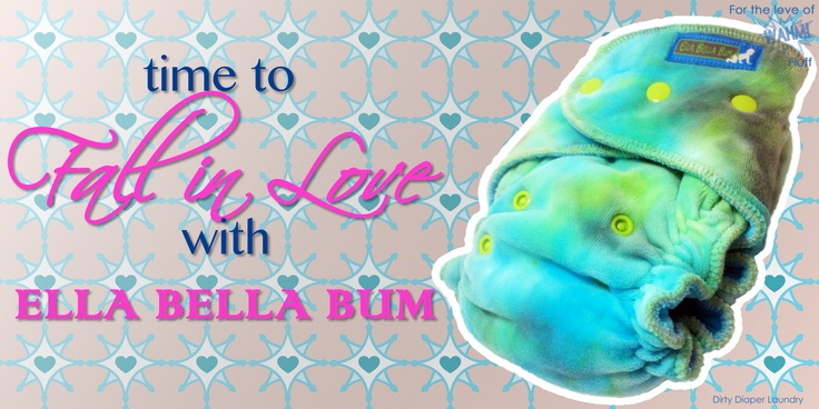 For our next feature in this months For the Love of WAHM Fluff event Im honored to introduce you to Ella Bella Bum. This Canadian brand of cloth diapers is best known for their Embellished Pocket #clothdiaper #ellabellabum