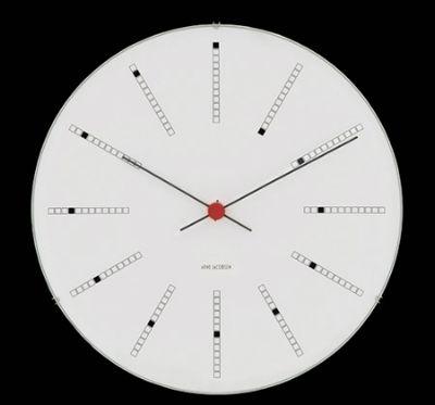 Wand Uhr Rosendahl Arne Jacobsen Model Bankers AJ29 | eBay