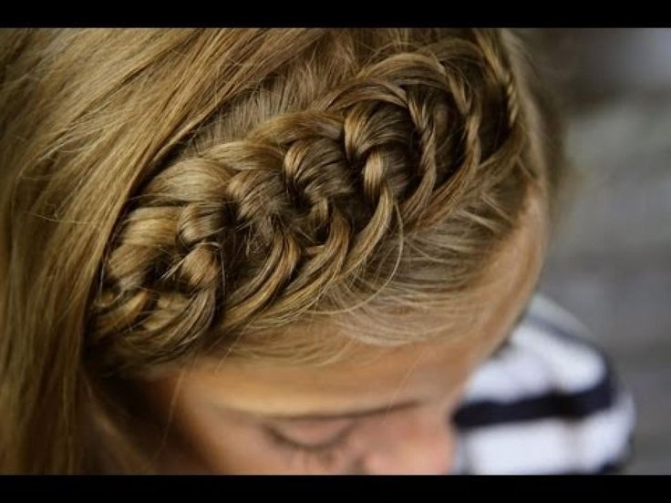 youtube  braid master  | The Knotted Headband | Bangs or Fringe | Cute Girls Hairstyles