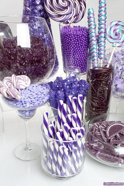 Sofia the First Party Candy Buffet