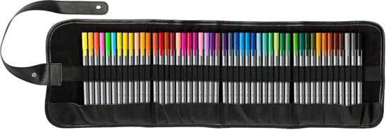 STAEDTLER triplus fineliner - roll-up etui 48 kleuren