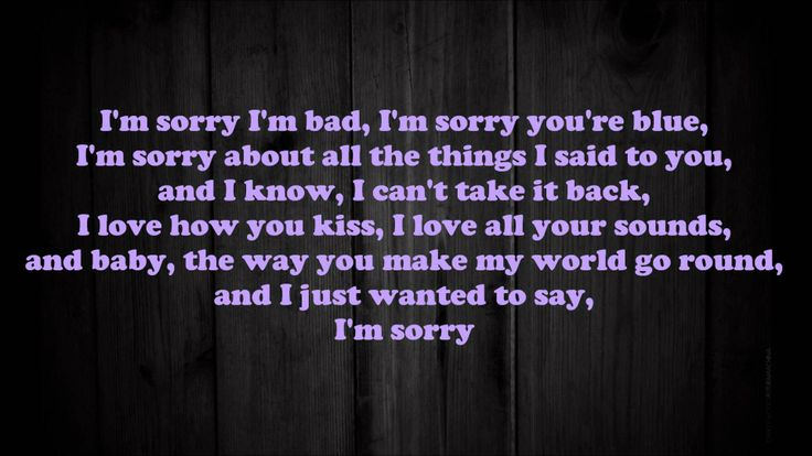 Buckcherry - Sorry