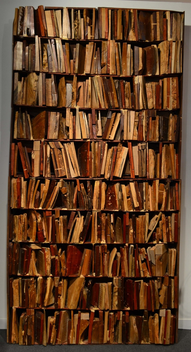 Bookcase by Manolo Valdes