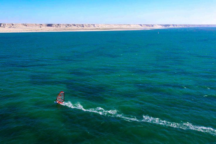 Dakhla in the Western Sahara - looks epic, is epic! #windsurfing #dakhla #travel