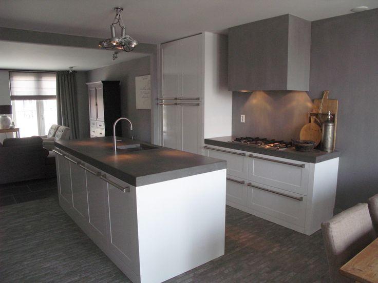 Keuken Lichtgrijs : keukens landelijke mieks keukens inspiratie keukens wonen keuken
