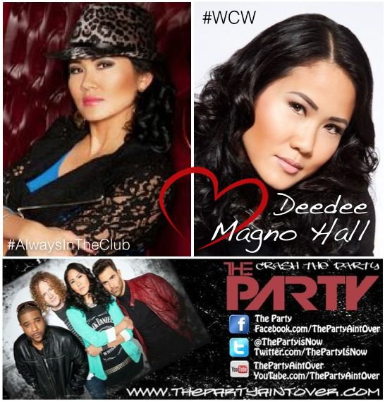 Deedee Magno Hall #WomanCrushWednesday ~ #AlwaysInTheClub #WCW