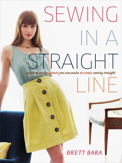 Sewing In a Straight Line. Create an entire world of sophisticated projects using one simple skill. Absolutely anyone can sew in a straight line. And with this one skill and some basic guidance, television host and crafty expert Brett Bara demonstrates how you can make custom home decor, stylish fashions and one-of-a-kind gifts. #sewing $19.54