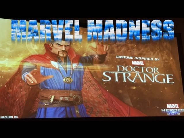 Marvel Heroes 2016: Doctor Strange Event And Movie Review! - Video --> http://www.comics2film.com/marvel-heroes-2016-doctor-strange-event-and-movie-review/  #DoctorStrange