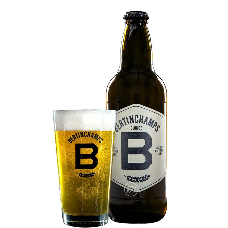 Proud to be Belgian, Bertinchamps blonde, Alc 6,2% - 50cl