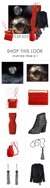 """Greek Trender"" by mb-magic-styles ❤ liked on Polyvore featuring Meraki, Versace, Donald J Pliner and Marina J."