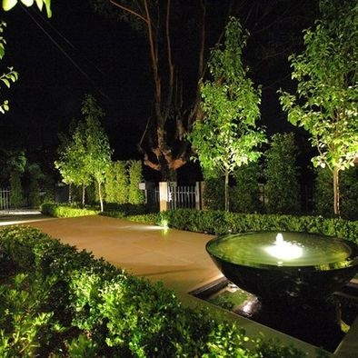 9 best images about garden tree lighting on pinterest for Luxury outdoor lighting