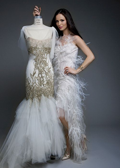 1000 ideas about georgina chapman on pinterest keren for Marchesa wedding dress sale