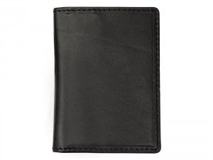 Engraved and personalised Classic Black business wallet used to store business cards and bank notes. It can store 5 cards and a bunch of business cards and can be engraved. Visit We Get Personal to order today. personalised wallets, personalised wallet, black business wallet
