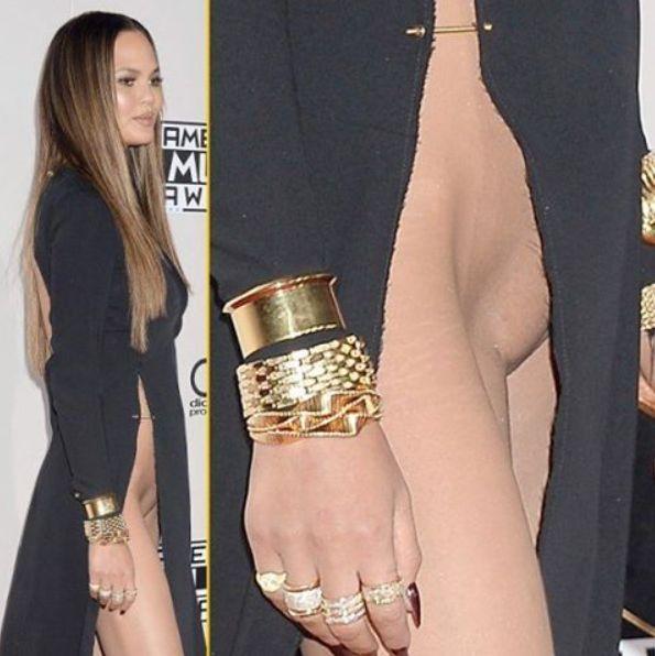 Celebrity wardrobe malfunctions pussy slip