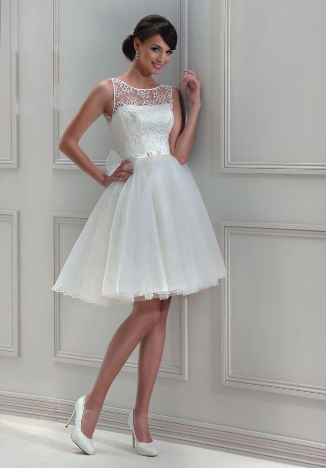 61 best short wedding dresses images on pinterest short for Cheap destination wedding dresses