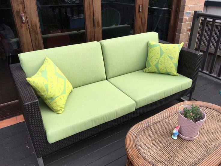 """Holly shared her recent experience with Cushion Factory:  """"Very happy with the cushions has transformed our verandah. Found the staff helpful in choosing fabric""""  #outdoorcushions"""