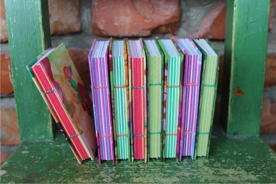 Book binding by CULT CAT , via Behance